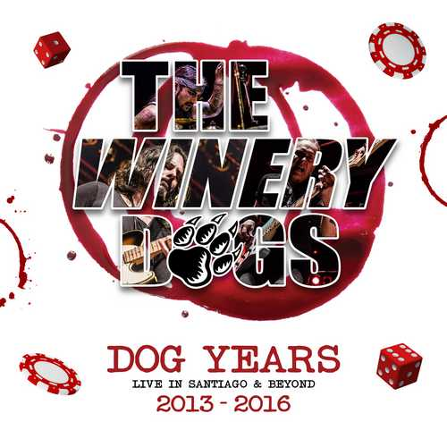 CD Shop - WINERY DOGS, THE DOG YEARS LIVE IN SANTIAGO & BEYOND 2013-2016 (BLU-RAY+CD)