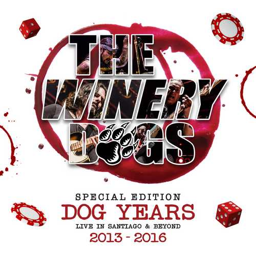 CD Shop - WINERY DOGS, THE DOG YEARS LIVE IN SANTIAGO & BEYOND 2013-2016 (BLU-RAY+DVD+3CD)