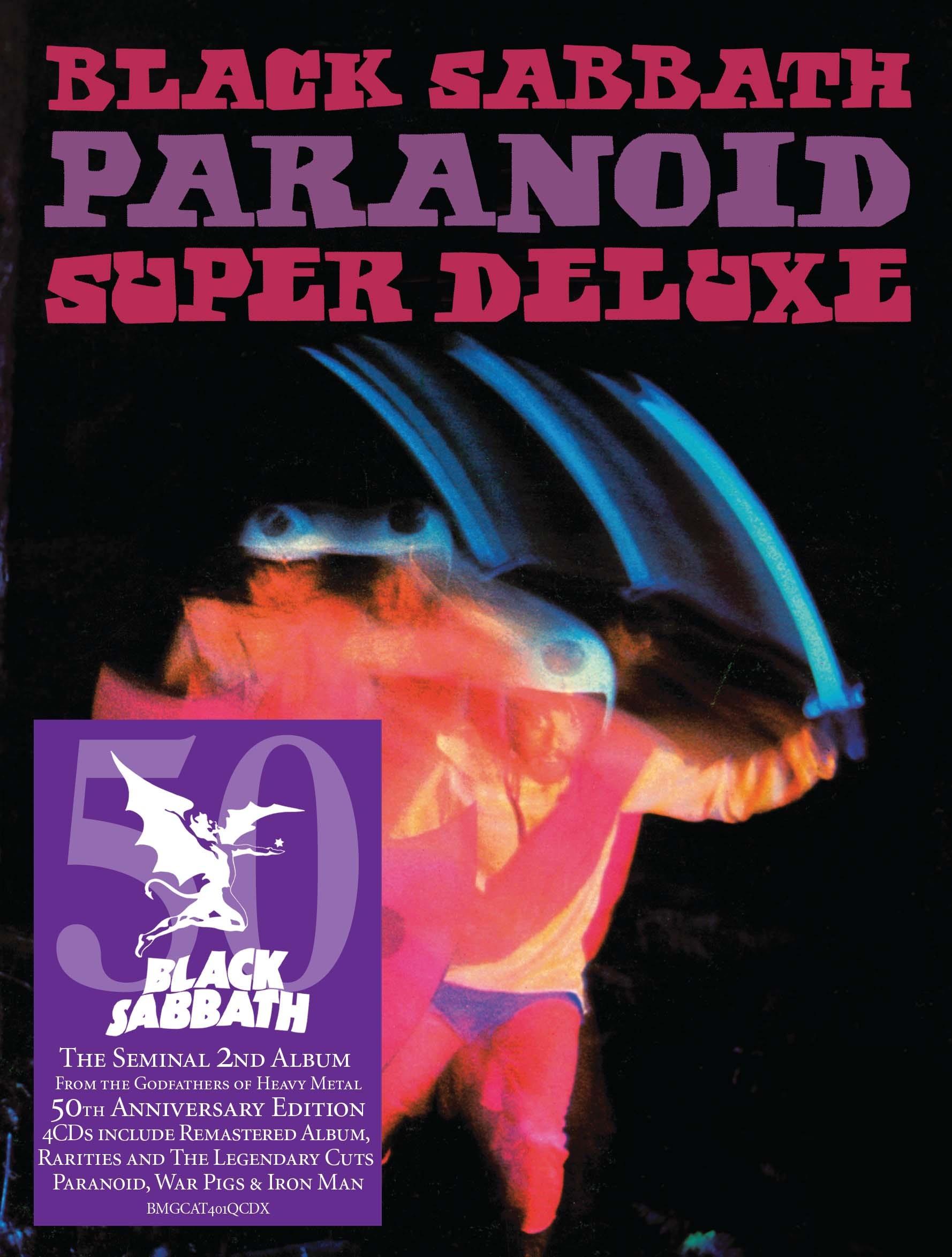 CD Shop - BLACK SABBATH PARANOID (50TH ANNIVERSARY EDITION)