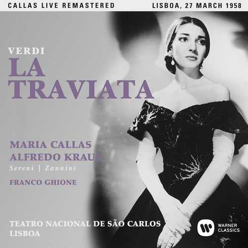CD Shop - CALLAS, MARIA VERDI: LA TRAVIATA (LISBOA, 27/03/1958)