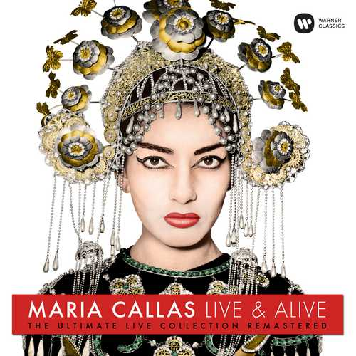CD Shop - CALLAS, MARIA MARIA CALLAS: LIVE AND ALIVE !