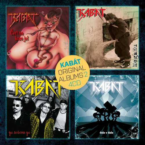 CD Shop - KABAT ORIGINAL ALBUMS 4CD VOL.2