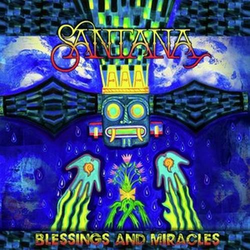 CD Shop - SANTANA BLESSINGS AND MIRACLES
