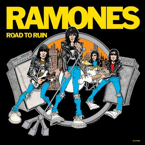 CD Shop - RAMONES, THE ROAD TO RUIN (40TH ANNIVERSARY DELUXE EDITION-1LP+3CD)