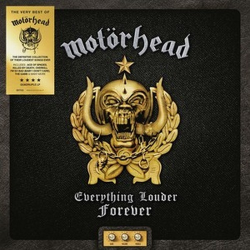 CD Shop - MOTORHEAD EVERYTHING LOUDER FOREVER (THE VERY BEST OF)