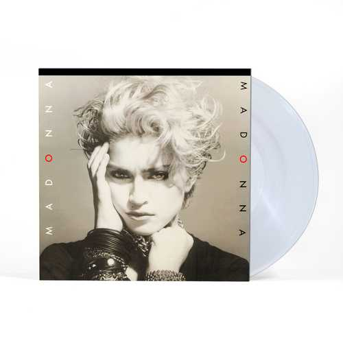 CD Shop - MADONNA MADONNA (CLEAR VINYL ALBUM)