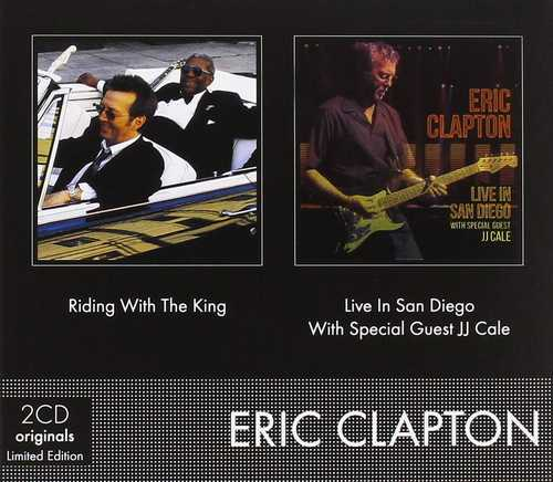 CD Shop - CLAPTON, ERIC RIDING WITH THE KING & LIVE IN SAN DIEGO WITH SPECIAL GUEST JJ CALE (DIGISLEEVE)