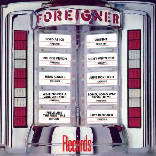 CD Shop - FOREIGNER RECORDS