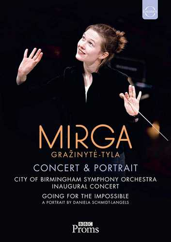 CD Shop - HANNIGAN/CITY OF BIRMINGHAM ORCHESTRA/GRAZINYTE-TYLA EUROARTS - MIRGA GRAZINYTE-TYLA PORTRAIT & BBC PROMS CONCERT WITH THE CITY OF BIRMINGHAM ORCHESTRA & BARBARA HANNIGAN