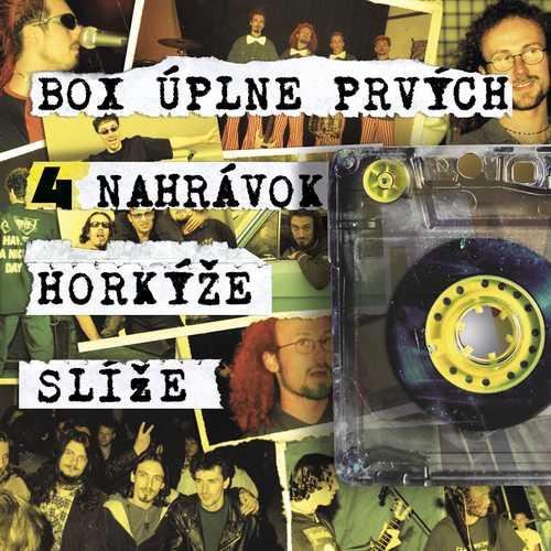 CD Shop - HORKYZE SLIZE BOX UPLNE PRVYCH 4 NAHRAVOK HORKYZE SLIZE