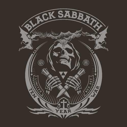 CD Shop - BLACK SABBATH THE TEN YEAR WAR (8XLP+2X7