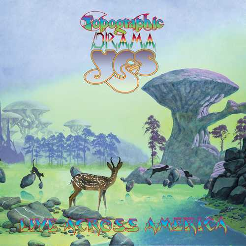 CD Shop - YES TOPOGRAPHIC DRAMA: LIVE ACROSS AMERICA