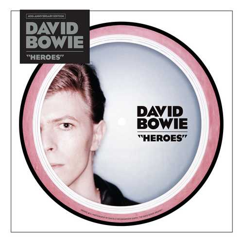 CD Shop - BOWIE, DAVID HEROES (40TH ANNIVERSARY 7