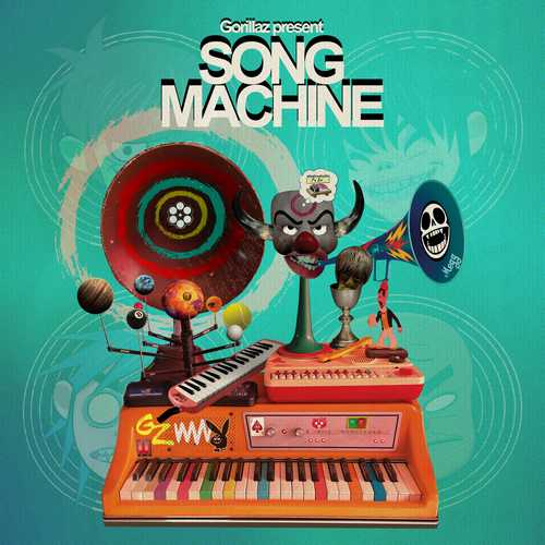 CD Shop - GORILLAZ GORILLAZ PRESENTS SONG MACHINE, SEASON 1 (RETAILER EXCLUSIVE)