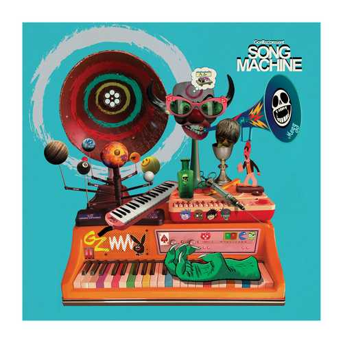 CD Shop - GORILLAZ GORILLAZ PRESENTS SONG MACHINE, SEASON 1 (INDIES)