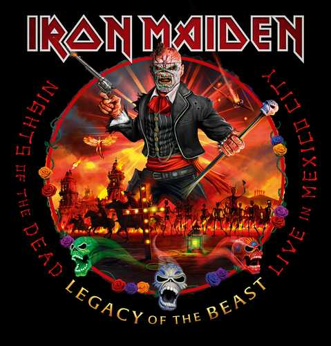 CD Shop - IRON MAIDEN NIGHTS OF THE DEAD - LEGACY OF THE BEAST, LIVE IN MEXICO CITY