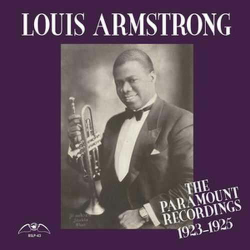 CD Shop - ARMSTRONG, LOUIS THE PARAMOUNT RECORDINGS 1923-1925