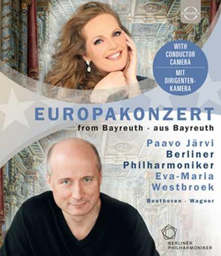 CD Shop - WESTBROEK/BERLINER PHILHARMONIKER/JARVI EUROARTS - BERLINER PHILHARMONIKER - EUROPAKONZERT 2018 - FROM THE MARKGRÄFLICHES THEATER BAYREUTH - PARVO JARVI