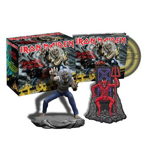 CD Shop - IRON MAIDEN THE NUMBER OF THE BEAST (COLLECTORS)