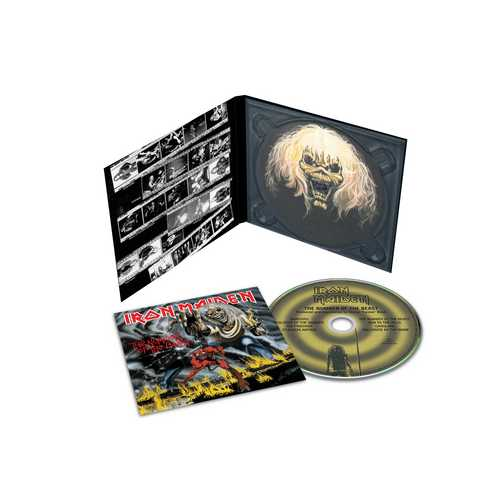 CD Shop - IRON MAIDEN THE NUMBER OF THE BEAST