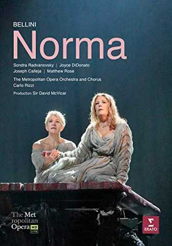 CD Shop - DIDONATO/RADVANOVSKY/CALLEJA/METROPOLITAN OPERA HOUSE ORCHESTRA/RIZZI BELLINI: NORMA (MET LIVE RECORDING)