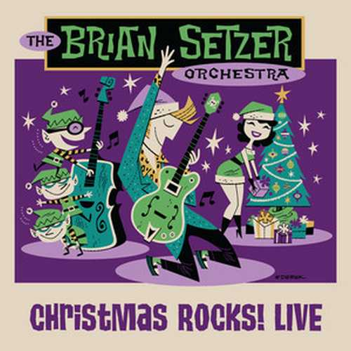 CD Shop - BRIAN SETZER ORCHESTRA CHRISTMAS ROCKS! LIVE