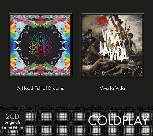 CD Shop - COLDPLAY A HEAD FULL OF DREAMS/VIVA LA VIDA
