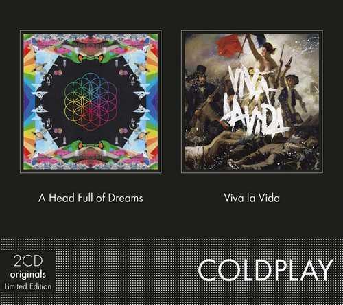 CD Shop - COLDPLAY A HEAD FULL OF DREAMS/VIVA LA VIDA