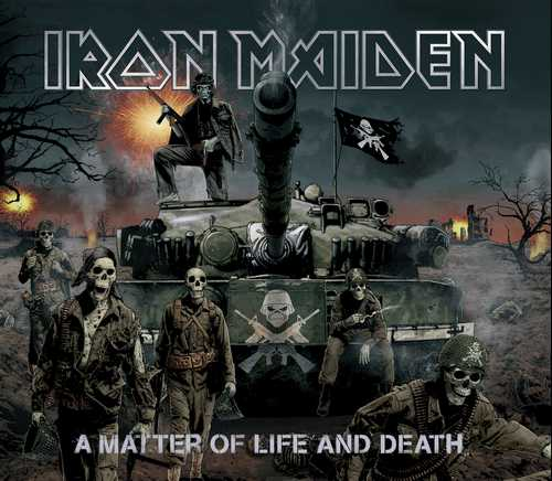 CD Shop - IRON MAIDEN A MATTER OF LIFE AND DEATH