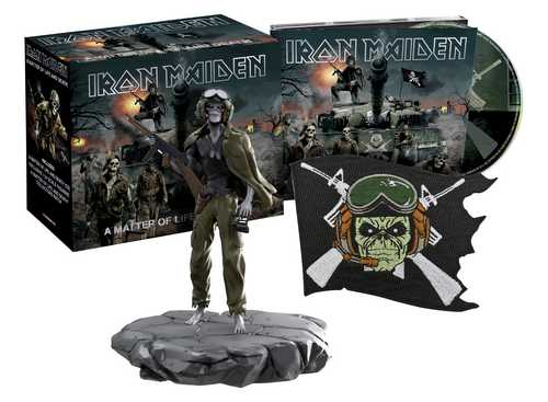 CD Shop - IRON MAIDEN A MATTER OF LIFE AND DEATH (COLLECTOR