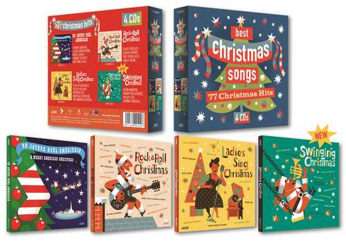 CD Shop - VARIOUS ARTISTS CHRISTMAS SONGS 4CD BOX
