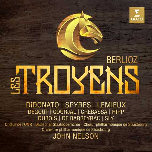 CD Shop - DIDONATO/HYMEL/LEMIEUX/CREBASSA/DEGOUT/COURJAL/BARBEYRAC/STRASBOURG PHILHARMONIC ORCHESTRA/NELSON BERLIOZ: LES TROYENS