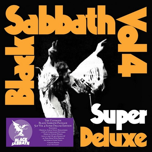 CD Shop - BLACK SABBATH VOL. 4 (SUPER DELUXE 5LP BOX SET)