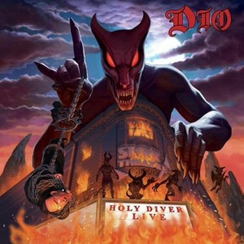 CD Shop - DIO HOLY DIVER LIVE (LENTICULAR LIMITED EDITION)