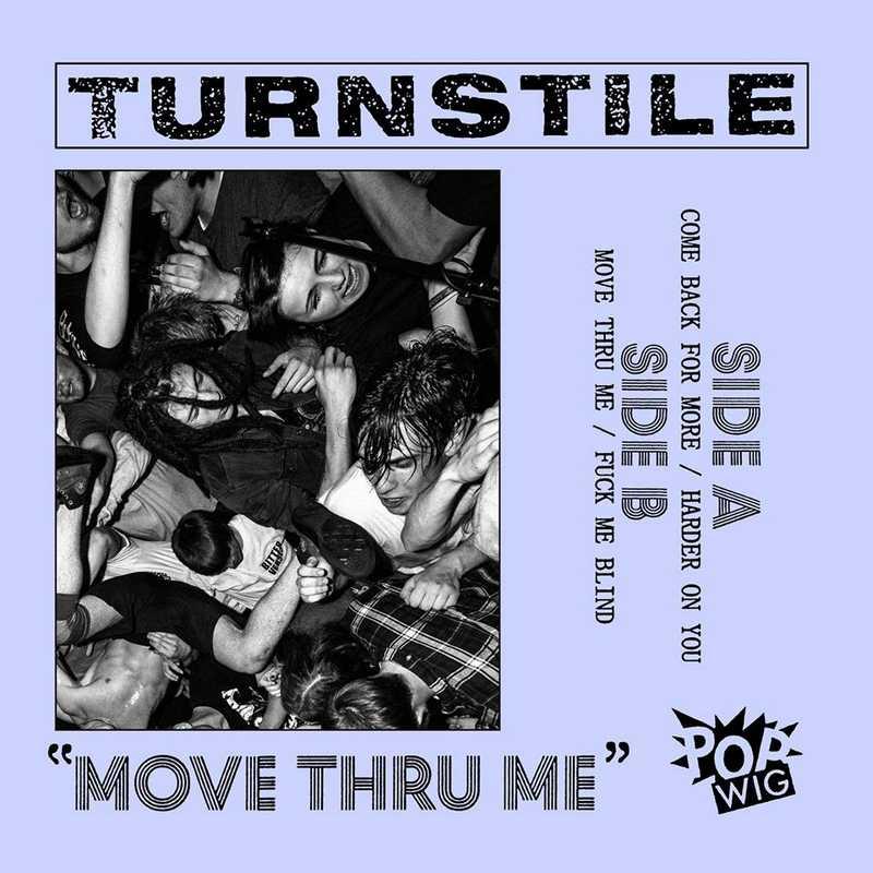 CD Shop - TURNSTILE MOVE THRU ME
