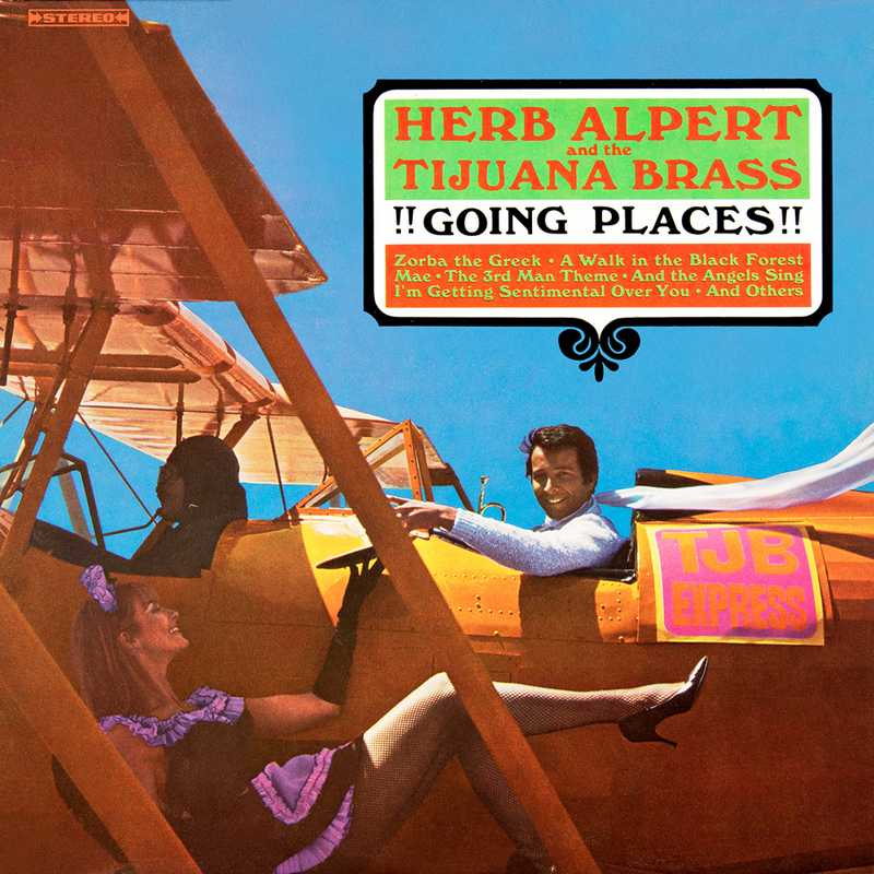 CD Shop - ALPERT, HERB & THE TIJUANA BRASS !!!GOING PLACES!!!