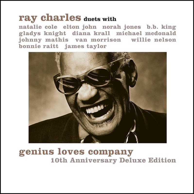 CD Shop - CHARLES, RAY GENIUS LOVES COMPANY - 10TH ANNIVERSARY EDITIONS (CD + DVD)