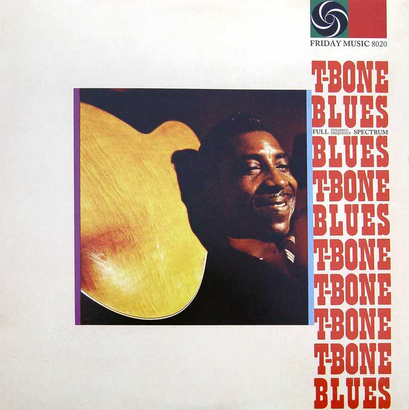 CD Shop - WALKER, T. BONE T-BONE BLUES