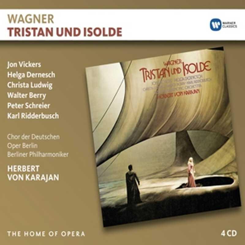 CD Shop - KARAJAN, HERBERT VON WAGNER: TRISTAN UND ISOLDE