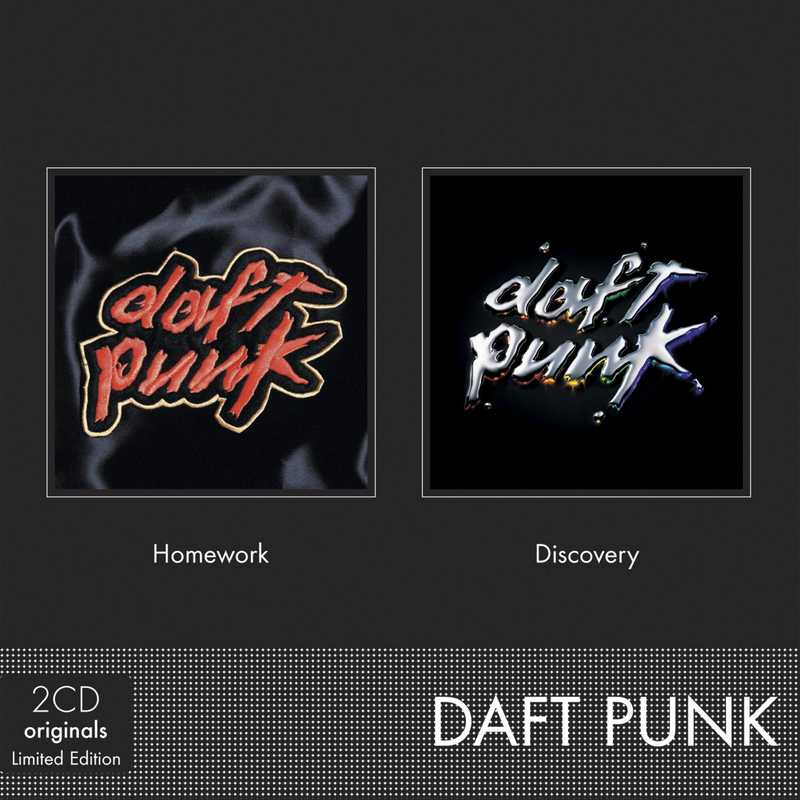 CD Shop - DAFT PUNK HOMEWORK+DISCOVERY