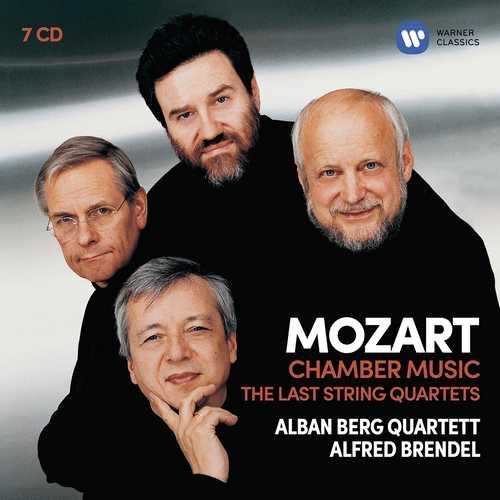 CD Shop - ALBAN BERG QUARTETT/ALFRED BRENDEL/MARKUS WOLFF MOZART: STRING QUARTETS 14-23, STRING QUINTETS 3-4, ETC.