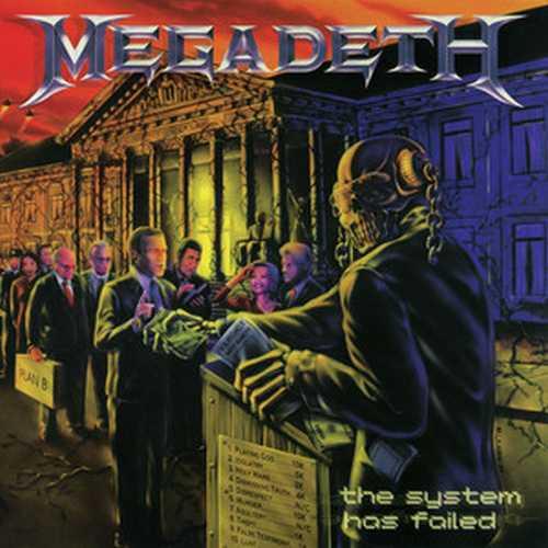 CD Shop - MEGADETH THE SYSTEM HAS FAILED