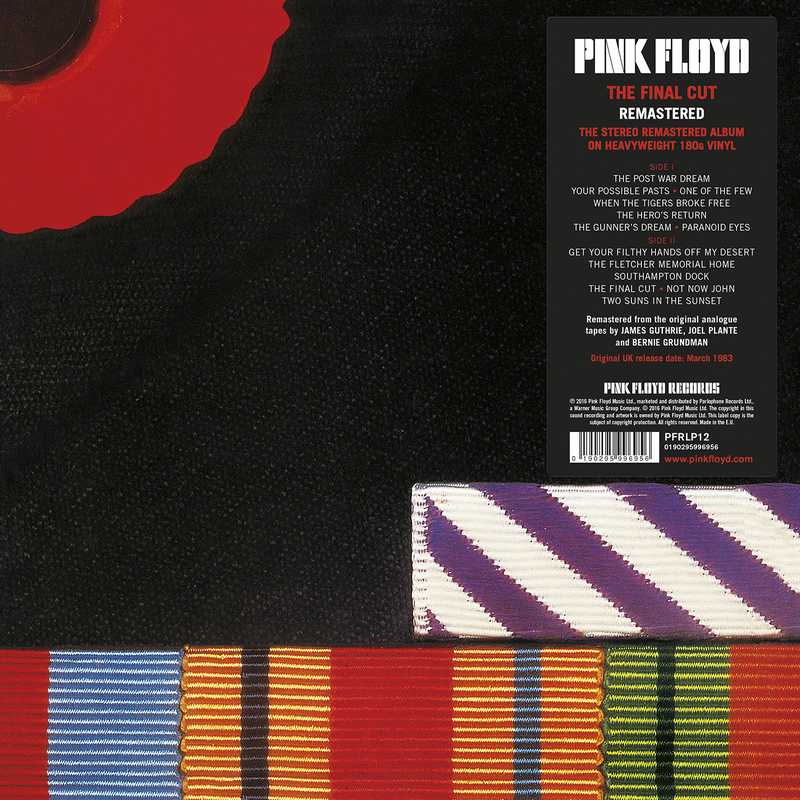 CD Shop - PINK FLOYD FINAL CUT (2011 REMASTERED)