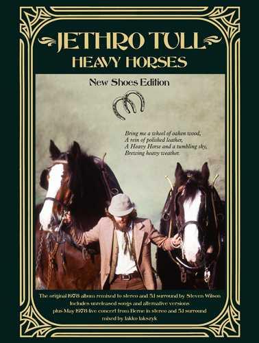 CD Shop - JETHRO TULL HEAVY HORSES (3CD+2DVD)