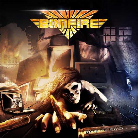 CD Shop - BONFIRE BYTE THE BULLET