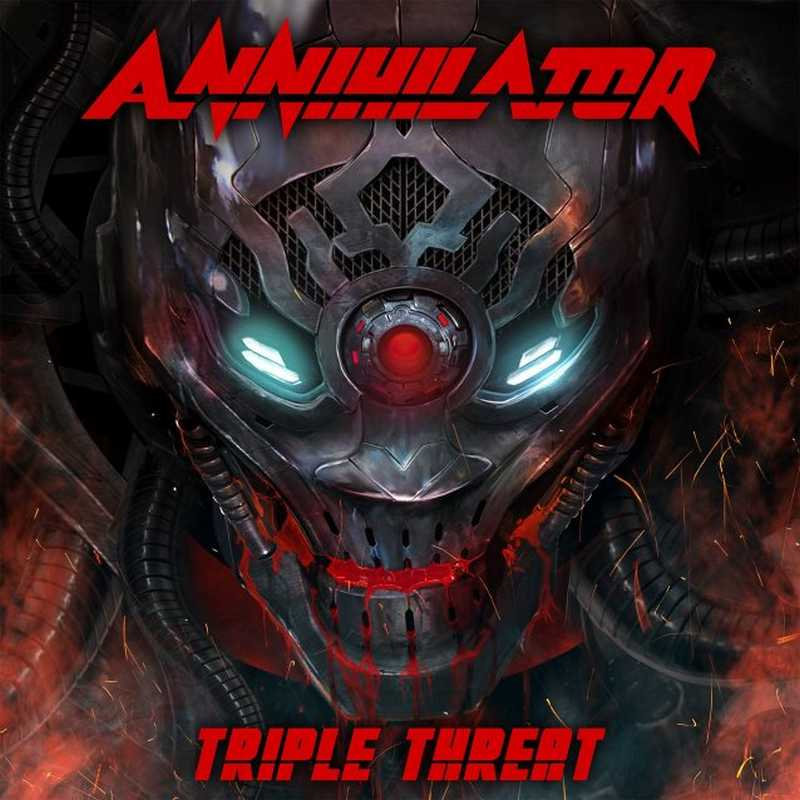 CD Shop - ANNIHILATOR TRIPLE THREAT (DVD+2CD)