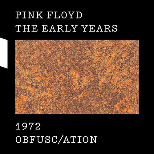 CD Shop - PINK FLOYD 1972 OBFUSC/ATION (2CD+DVD+BLU-RAY)