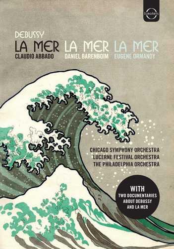 CD Shop - ABBADO/BARENBOIM/ORMANDY/CHICAGO SYMPHONY ORCHESTRA/LUCERNE FESTIVAL ORCHESTRA/THE PHILADELPHIA ORCHESTRA CLAUDE DEBUSSY