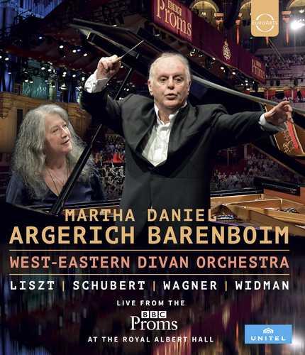 CD Shop - ARGERICH, MARTHA/DANIEL BARENBOIM/WEST-EASTERN DIVAN ORCHESTRA BBC PROMS 2016 – WEDO / ARGERICH - BARENBOIM - DOVE