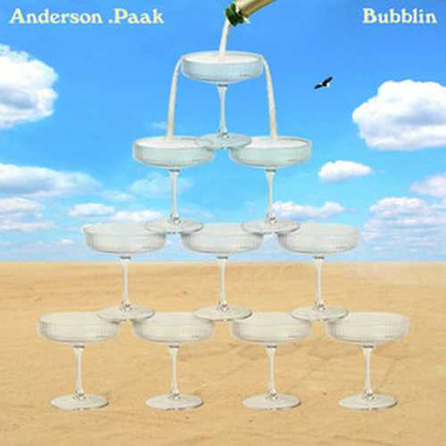 CD Shop - PAAK, ANDERSON RSD - BUBBLIN